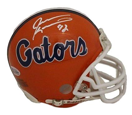 Amazon.com  Jevon Kearse Autographed Signed Florida Gators Mini ... e6bc072c9