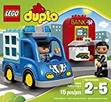 LEGO DUPLO Town Police Patrol 10809 Toddler Toy, Large Building Bricks