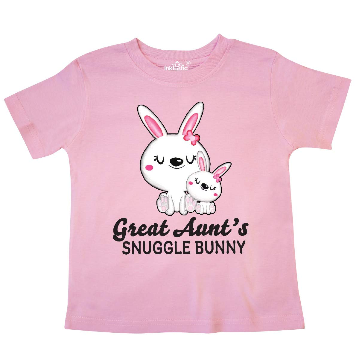 inktastic Great Aunts Snuggle Bunny Easter Toddler T-Shirt