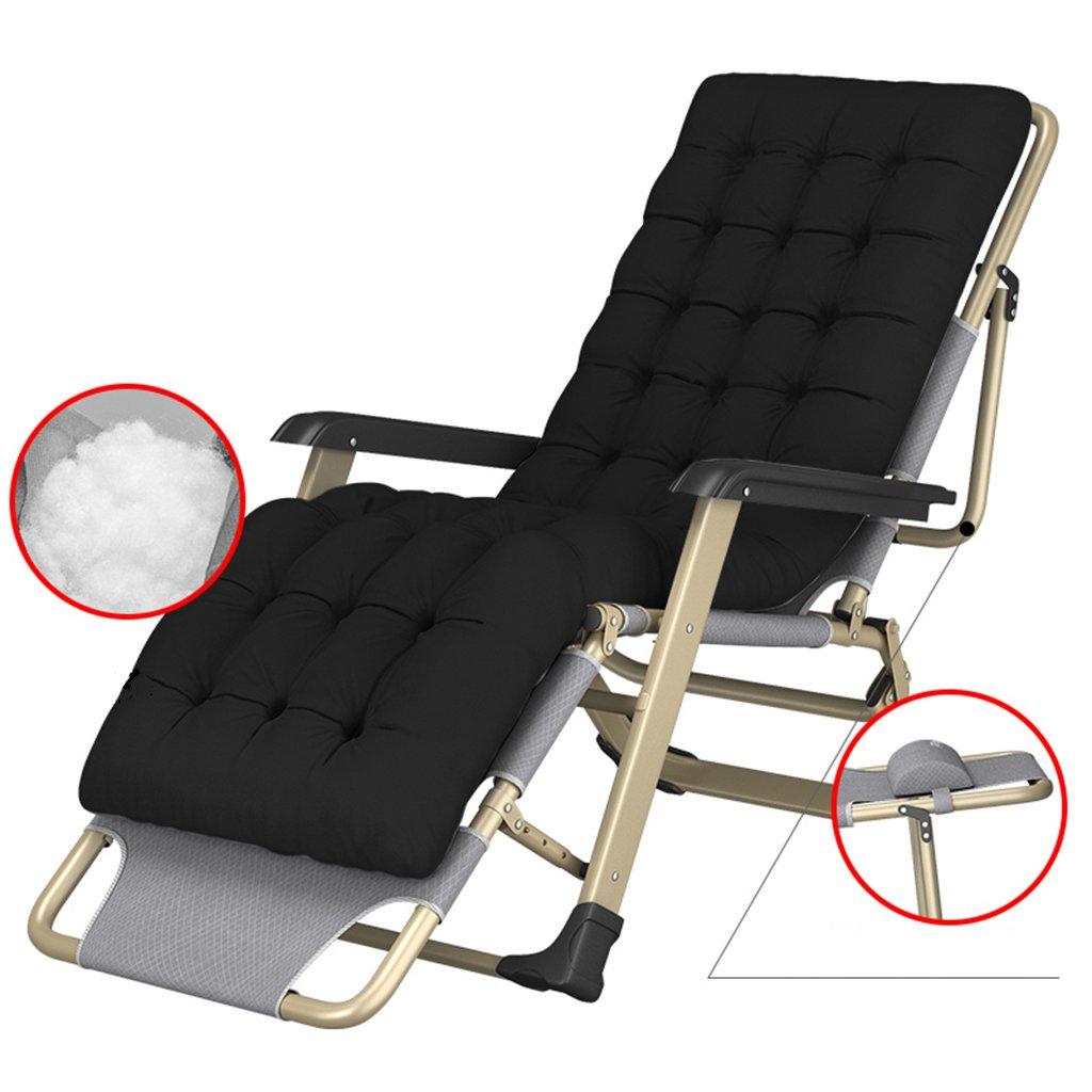 Klappstuhl Zero Gravity Stühle Heavy Duty, Outdoor Camping Strand Rasen Tragbaren Stuhl mit Pad, 260 Kg
