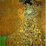 The Perfect effect Canvas of oil painting 'Gustav Klimt-Portrait of Adele Bloch-Bauer,1907' ,size: 8x8 inch / 20x20 cm ,this Amazing Art Decorative Prints on Canvas is fit for Living Room decor and Home artwork and Gifts
