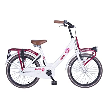 a880996d5 Bicicleta Chica 20 Pulgadas Zonix con Freno Delantero al Manillar y  Contropedal Trasero 85% Montada Blanco: Amazon.es: Deportes y aire libre