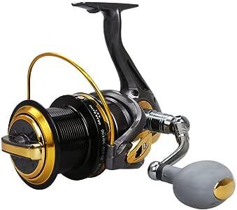 Carretes de spinning de pesca 12 + 1 Max Power 9 kg Anticorrosión ...