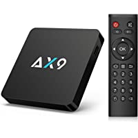 Bqeel AX9 Android 7.1 TV Box Quad-core Prozessor 4K Android Box 2.4G WiFi H.265 Smart Media Player (1G RAM/ 8G ROM)