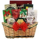 GreatArrivals Gift Baskets Tidings of Joy:Medium Gourmet Holiday Christmas Gift Basket, 2.72 Kilogram