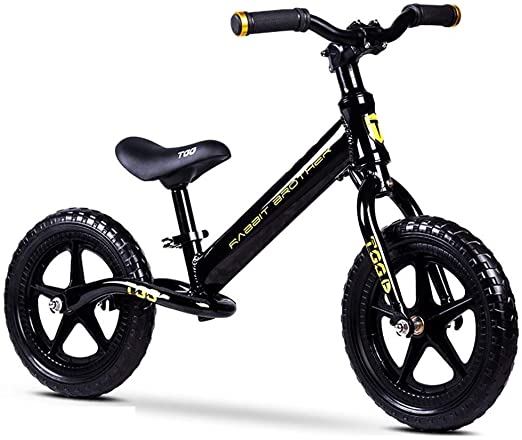MODELSS Bicicleta Infantil sin Pedales de Aluminio Balance Car for niños de 2 a 8 años (Color : Black): Amazon.es: Hogar