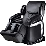 Fujiiryoki FJ-4600B Dr. Fuji Cyber Relax 3D Zero Gravity Super Deluxe Massage Chair, Black, 14 Sets of Automated Massage Prog