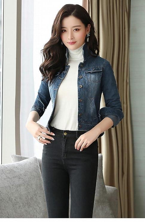 newest 9f41e 5b3b6 Sig.Ra Giacca Di Jeans Donna Corta Camicia Selvaggia Vintage ...