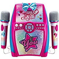 Jojo Siwa Bow Digital Recording Studio with Dual Microphones - Record, Sing, and Create
