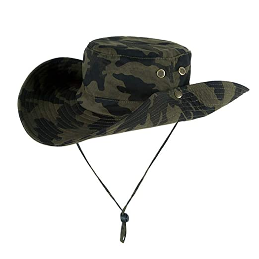 1ae56ea9b212b Outdoor Fishing Hat Men Camflage Military Fisherman Hat Hombre Jungle  Hiking Hat Boys Bucket Hat for