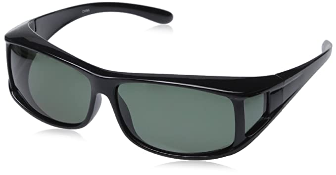 d01a14a744 Amazon.com  Hilton Bay Polarized Over-Prescription Sunglasses P77 ...