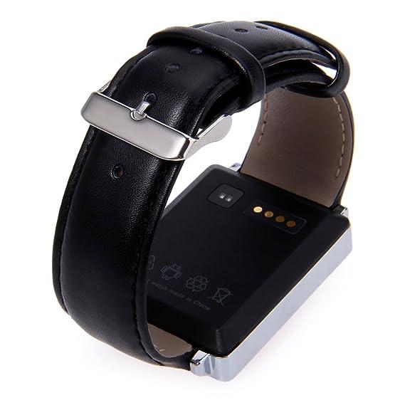 gearbest D6 3 G Wifi GPS Bluetooth reloj inteligente con control de la frecuencia cardiaca para teléfono Android 5.1, iOS: Amazon.es: Relojes