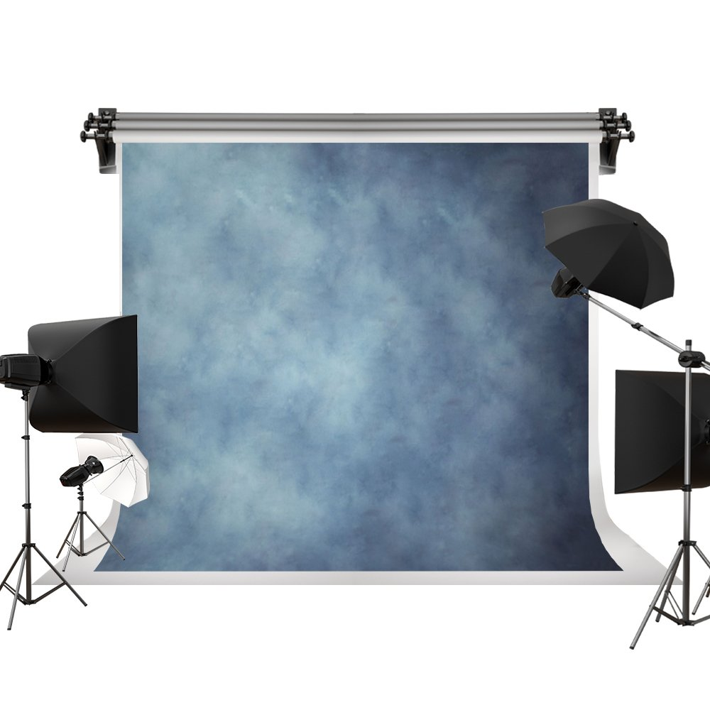 Kate 10x6.5ft / 3x2m Photo Backdrops Photographers Retro Solid Light Blue Background Photography Props Studio Digital Printed Backdrop