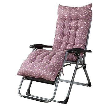 Househome Coussin Chaise Longue Ponage Fauteuil Classique Mat Doux Pour Bain De Soleil Transat Jardin Relax