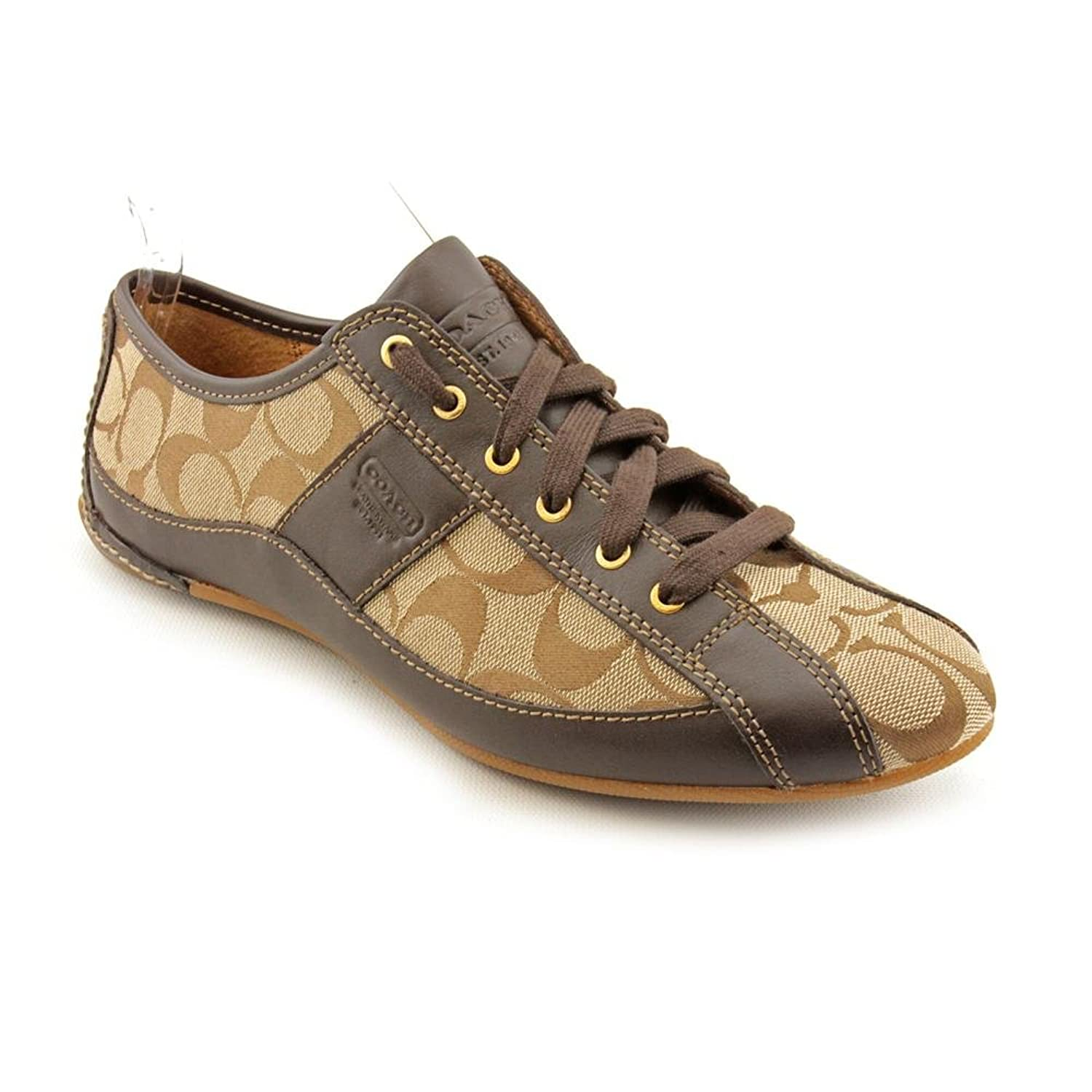 free shipping Coach Suee Women Round Toe Leather Brown