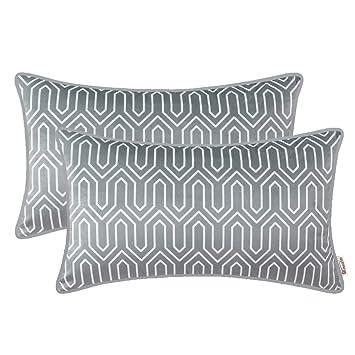 Amazon.com: Brawarm - Fundas de almohada de forro polar para ...