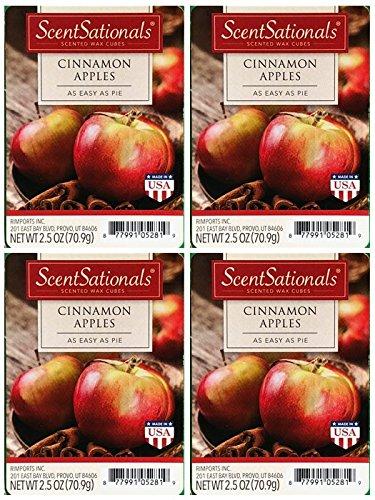 ScentSationals Cinnamon Apples Scented Wax Cubes - ()
