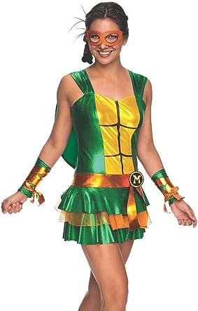 Rubies Disfraz de Michelangelo Las Tortugas Ninja Mujer: Amazon.es ...