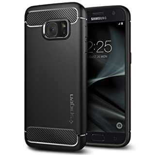 Spigen Rugged Armor Designed for Samsung Galaxy S7 Case (2016) - Black
