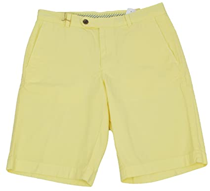 """ae46fcb126a Brooks Brothers Mens Garment-Dyed 11"""" Yellow Bermuda Shorts ..."""