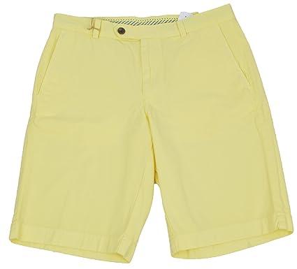 "643905ba71 Brooks Brothers Mens Garment-Dyed 11"" Yellow Bermuda Shorts ..."