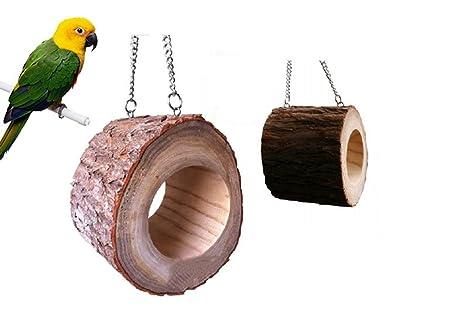 Haustierbedarf Vogelspielzeug Vogelschaukel für Wellensittich Nymphensittich Spielzeug