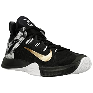 1266bdca3145 Nike - Zoom Hyperrev 2015 Paul George - Color  Black-White - Size  7.5   Amazon.co.uk  Shoes   Bags
