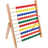 MagiDeal Montessori Material Toy Abacus Frame for Kids Addition&Subtraction Learning