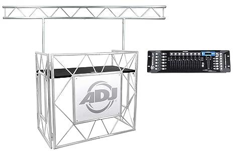 American DJ® - Mesa de eventos profesional II plegable DJ ...