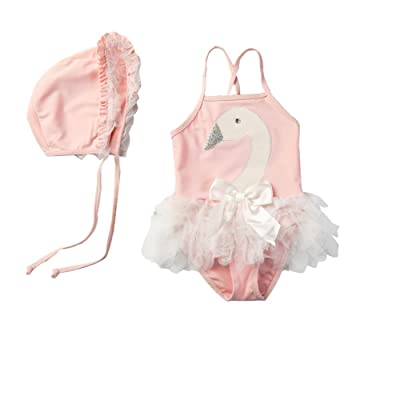 Baby Girls Swimwear One Piece Swimsuits Beach Wear