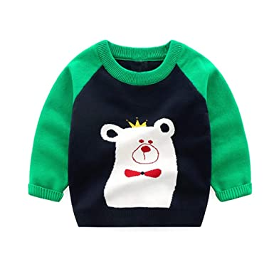 Zerototens Baby Sweatshirt for 0-5 Years Old,Toddler Kids Boys Girls Dinasour Print White Long Sleeve T Shirt Blouse Tops Newborn Clothes Children Casual Outwear Basic Tee