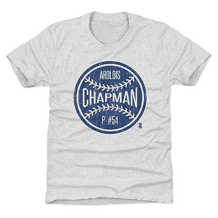 Amazon.com   500 LEVEL Aroldis Chapman New York Baseball Kids Shirt ... 3e201322467