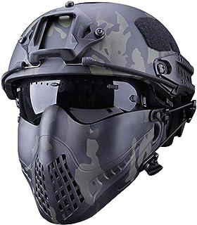 Yunhigh Masque de Camouflage de Pilote de Masque de Protection extérieur pour système de Bandeau à Deux Modes