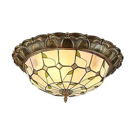 Amazon.com: Tiffany - Lámpara de techo para dormitorio o ...