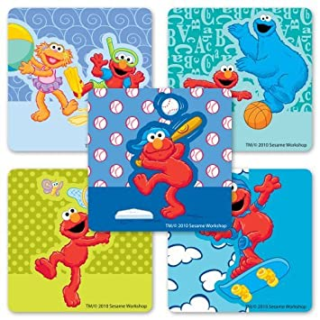 Silly Elmo Stickers - 75 Per Pack by SmileMakers