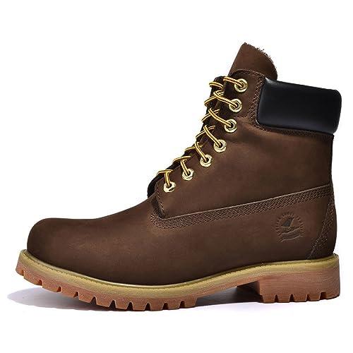 54993019c LEDLFIE Botas Martin Boots Para Hombre Botines Botas Militares Botas  Amarillas Botas De Cuero Para el Desierto Botas Altas Para Hombres Zapatos  Para ...