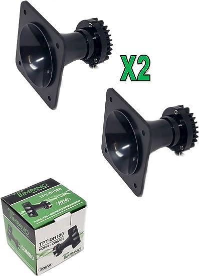 """Timpano TPT-DH100 200W 1/"""" neodymium Compression Horn Driver  8 Ohm Trumpet 1"""