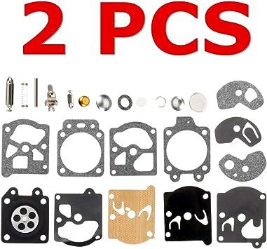 22PC Carb Carburetor Diaphragm Gasket Needle Repair Kit For WA//WT//Walbro Series