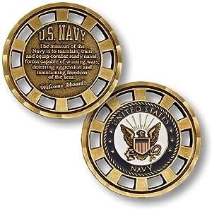 U.S. Navy Mission Challenge Coin