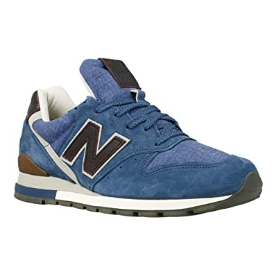 New Balance - 996 - Color: Blue-Brown - Size: 7.5: Amazon.co.uk ...