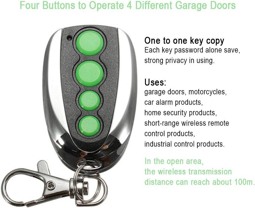 INGHU Garage Remote Controller 4 Button Rolling Code Garage Door ...