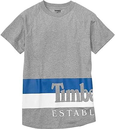 Timberland YCC AP - Camiseta para hombre, talla M, color gris: Amazon.es: Ropa y accesorios