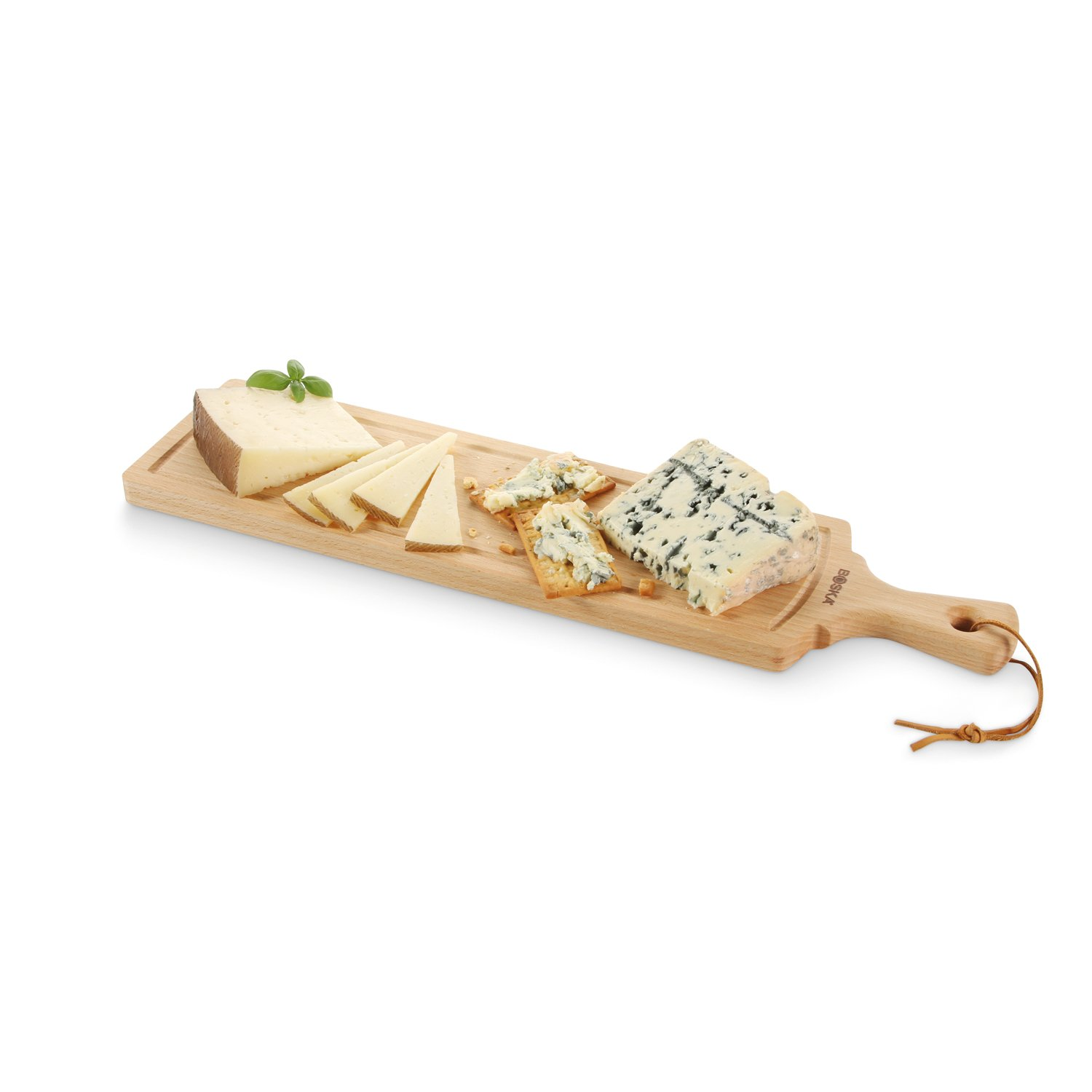 Boska Holland Beech Wood Cheese Board, Rectangle Paddle Board, 17.5'' x 4.5'', Explore Collection