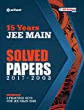 15 Years' Solved Papers JEE Main