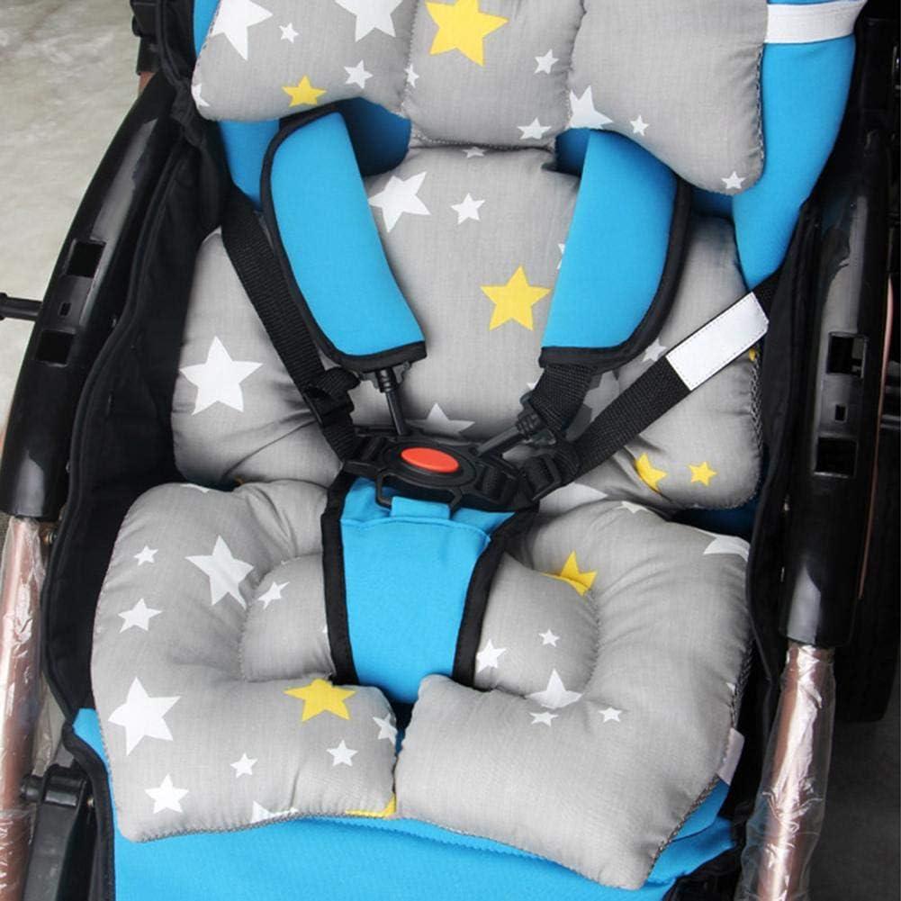 Prahler Kinderwagen Design f/ür Kinderwagen Kinderwagen Autositz Auto Hochstuhl Pad HEIRAO Baby Car Seat Kissen einf/ügen Body Support Schlafkissen
