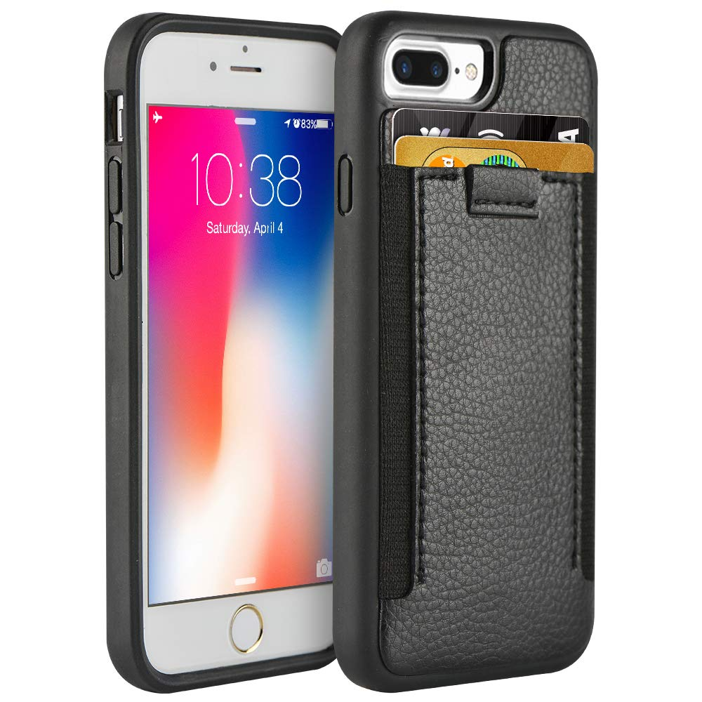 online store fa93d 75104 Amazon.com: iPhone 8 Plus/7 Plus Wallet Case,ZVE iPhone 7 Plus case ...