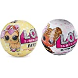 L.O.L. Surprise Pets and Glitter Series 3-Wave 1 Unwrapping Toy Set of 2