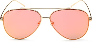 "PRIVÉ REVAUX ""The Aphrodite"" Handcrafted Designer Aviator Sunglasses For Men & Women"