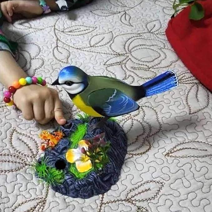 Yellow 14cm x 16cm Uccelli SANGDA Pappagallo parlante elettronico parlante Pappagallo Che Canta e scaccia pronuncia per Animali Domestici elettrici con sensore di Movimento plastica