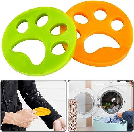 Etmury Pet Hair Remover for Laundry, 2pcs Depiladora para Mascotas ...